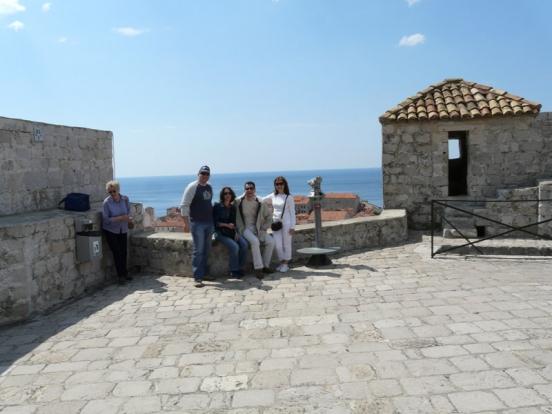 Ваня, Мартин, Любо и Мария в Хърватска